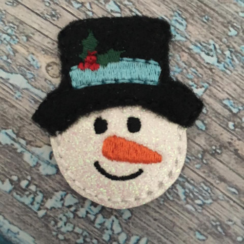 Collar Glam - Snowman with Top Hat