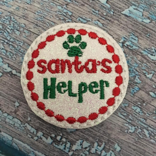 Collar Glam - Santa's Helper