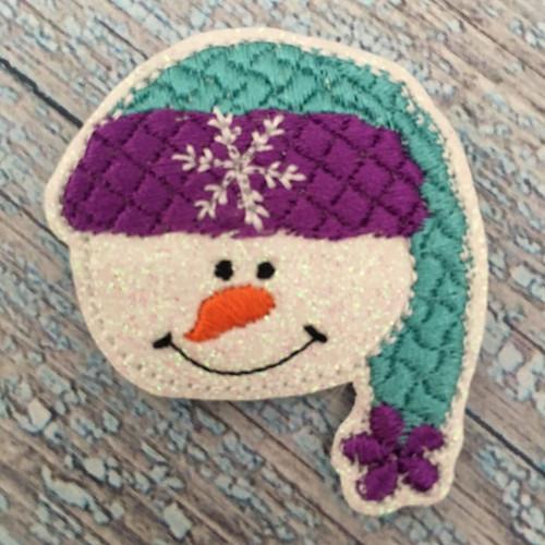 Collar Glam - Snowman Face Boy