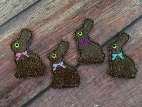 Collar Glam - Chocolate Bunny