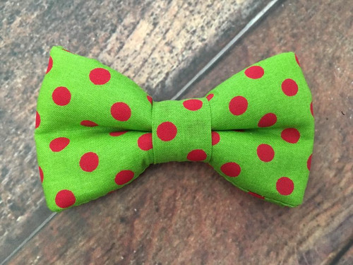 Christmas Dots BowTie