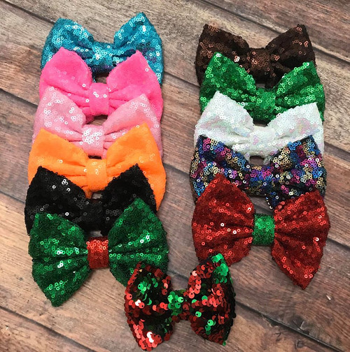 Sequin BowTie *Many Colors*