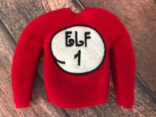 Elf Sweater Elf 1