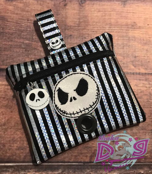 Pleather Poopie Pouch - Nightmare Jack Face