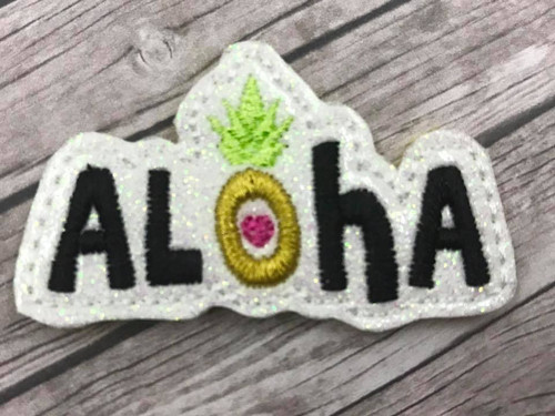 Collar Glam - Aloha Pineapple