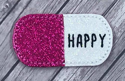 Collar Glam - Happy Pill