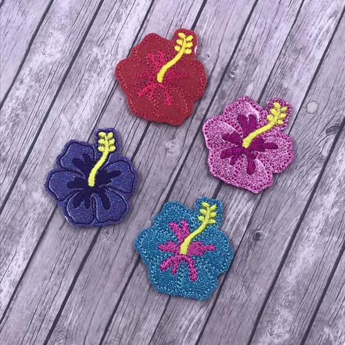 Collar Glam - Tropical Hibiscus