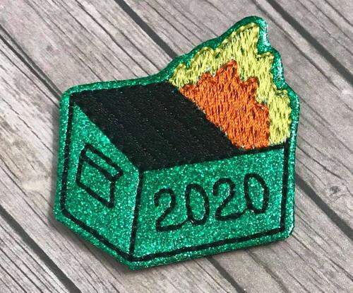 Collar Glam - Dumpster Fire 2020
