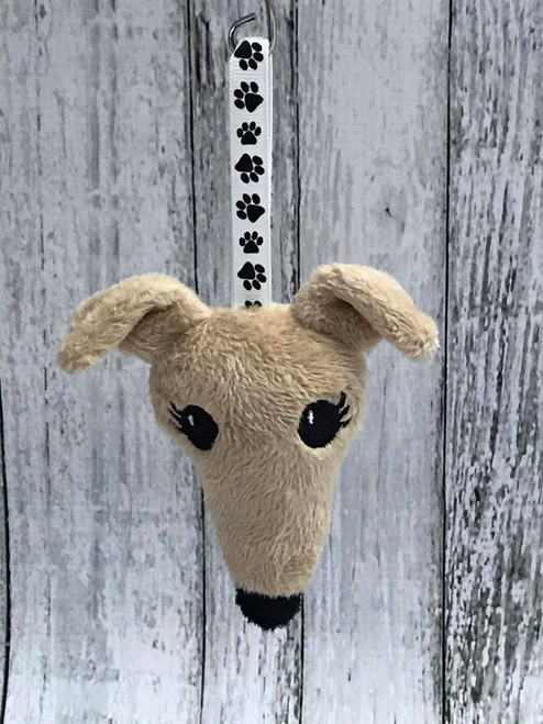 Houndie Head Ornament Camel with Eyelashes