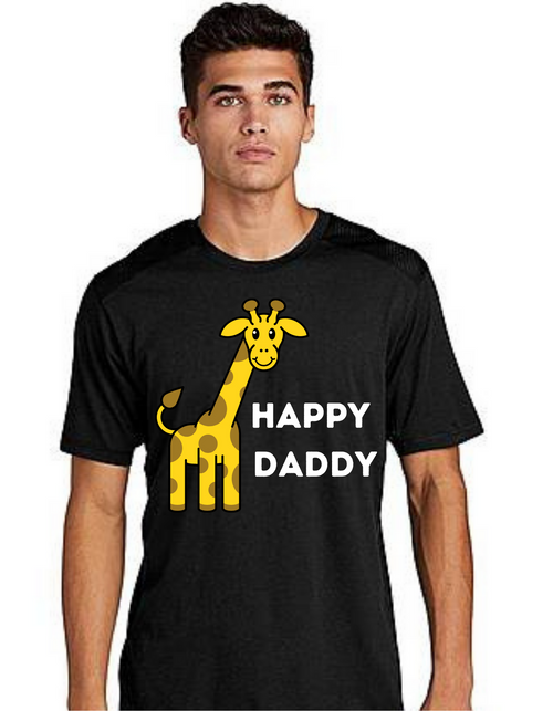Happy Daddy Tshirt  Dad Life T-Shirt Short Sleeve Summer  Daddy tshirts
