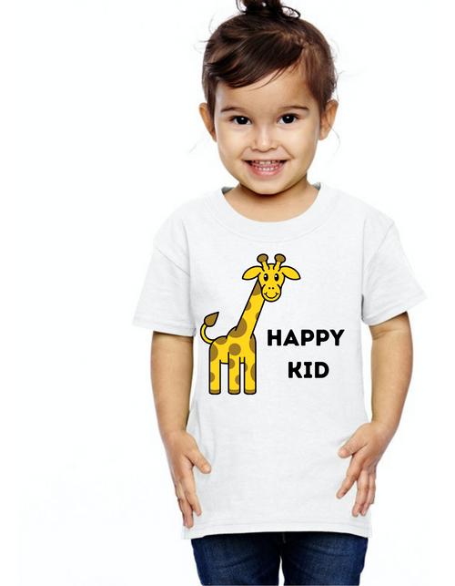 Happy kid tshirts  kids Tshirt , Unisex tshirts,girls tshists