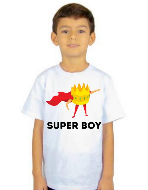 SUPER BOY tshirts  kids Tshirt , Unisex tshirts,Boys tshirts, tshirts for Son