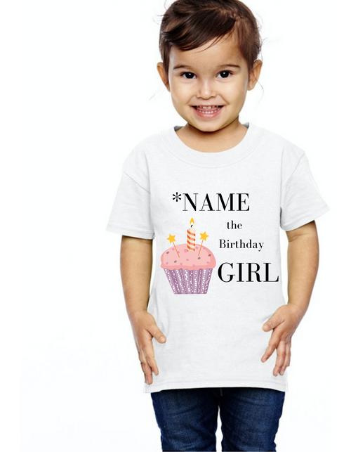 Birthday GIRL tshirts  kids Tshirt , bday tshirts,girls tshists