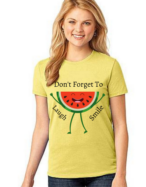 Dont Forget To Smile Tshirt_Mom family matching tshirts,tshirts for women,Mom's tshirts