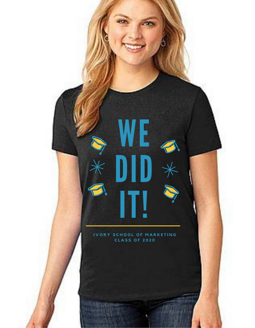 Roma Graduation T-shirt for girls We did it, Summer tshirts shirt sleeves