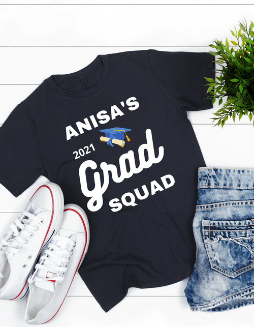Roma T-shirt for girls Grad Squad party, Summer tshirts shirt sleeves