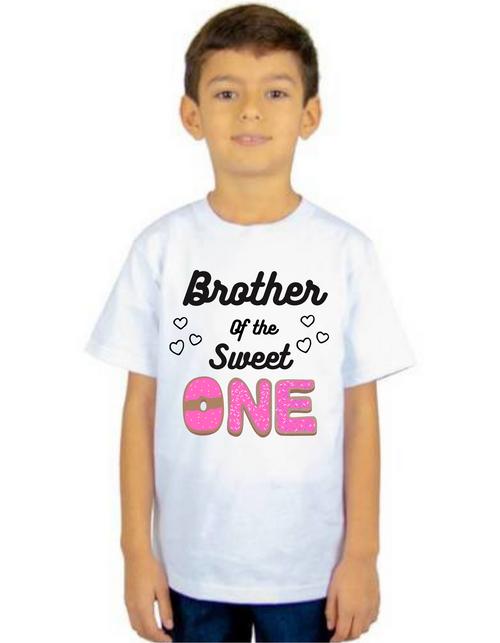 Brother of Birthday Girl  donut  them T-shirts kids Tshirt , bday tshirts, Boy's tshirts