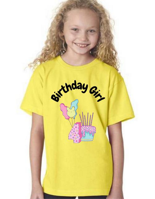 Roma Birthday GIRL tshirt for kids Tshirt , bday tshirts,girls tshists