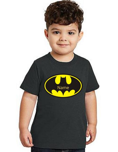 Roma Birthday Boy Batman theme  T-shirts kids T-shirt, bday tshirts, Boy's tshirts