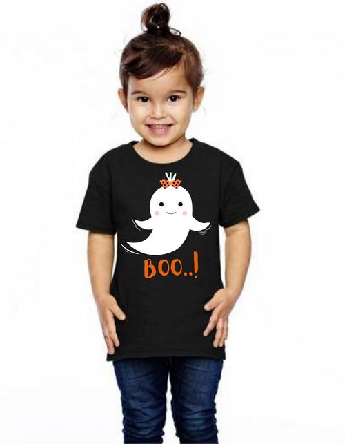 Halloween special Boo tshirts  kids Tshirt , bday tshirts,girls tshists