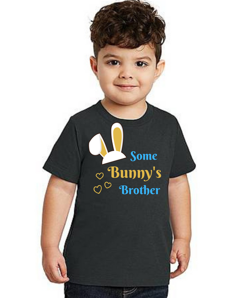 Brother of Birthday Girl Some bunny theme T-shirts kids Tshirt , bday tshirts, Boy's tshirts