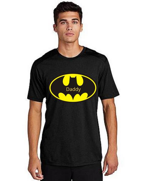 Daddy of the Birthday Boy Batman theme Tshirt for Dad Life,Dad of birthday Prince Tshirt T-Shirt Short Sleeve Men Summer tshirts