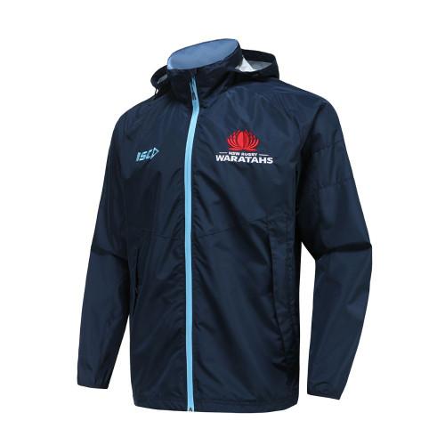 NSW Waratahs 2021 Mens Wet Weather Jacket