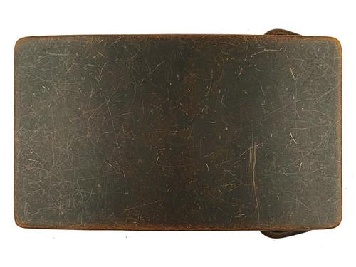 "Antique Brass Vantage Curved Rectangular Buckle Fits 1-1/2""(38mm) Wide Belt"
