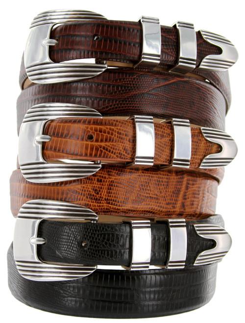 Stanley Italian Calfskin Genuine Leather Designer Golf Dress Belt