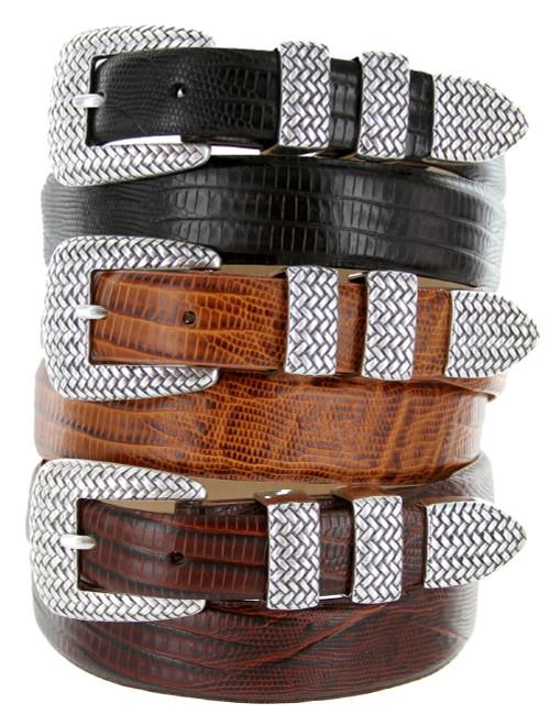 Java Italian Calfskin Genuine Leather Designer Golf Dress Belt