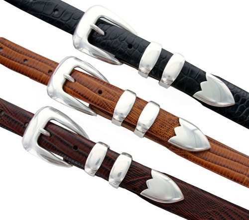 S5525 Italian Calfskin Genuine Leather Designer Golf Dress Belt
