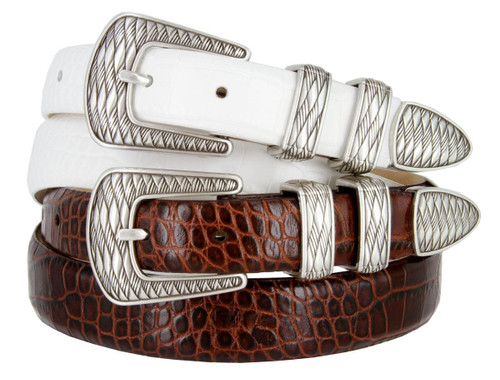 S8155 Italian Calfskin Genuine Leather Designer Golf Dress Belt