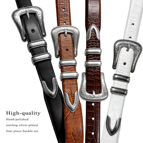 Brenton Italian Calfskin Genuine Leather Designer Golf Dress Belt