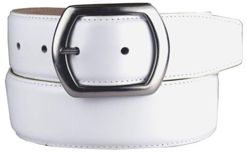 "Charisse Italian Calfskin Genuine Leather Casual Dress Belt 1-1/2""(38mm) Wide"