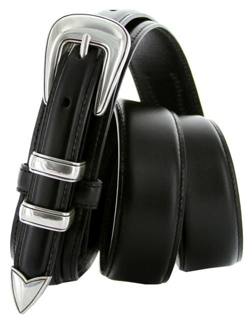 S8622 Western Ranger Belt Oil Tanned Genuine Leather Belt