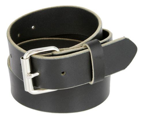 Made in USA Belt Full Grain One Piece Heavy Duty Leather Belt Work Belt Gun Belt