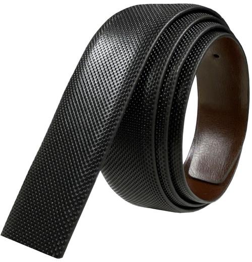 "160504 Reversible Belt Strap Replacement Genuine Leather Dress Belt Strap, 1-3/8"" (35mm) Wide (Black/Brown)"