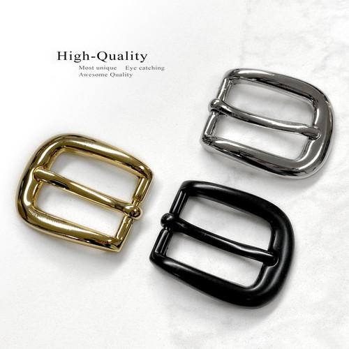 "H01 Classic Single Prong Metal Heel Bar Dress Buckle Fits 3/4""(19mm) Wide Belt"