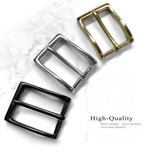 "BS6162 Solid Brass Buckle Classic Dress Belt Buckle fits 1-1/8"" (30mm) Belt"