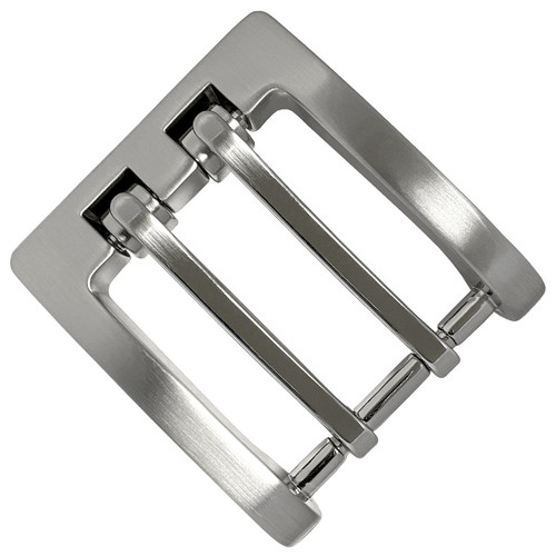 """P4184 Double Prong Roller Buckle fits 1-3/8"""" (35mm) Wide Belt"""