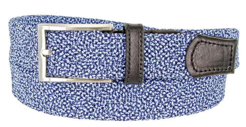 """30200 Knitted Woven Elastic Stretch Fabric Casual Jeans Belt 1-1/4""""(32mm) Wide"""