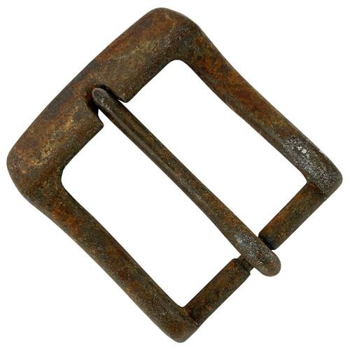 "A0023 Replacement Belt Buckle fits 1-1/2""(38mm) wide Belt Strap (Antique Rusty)"