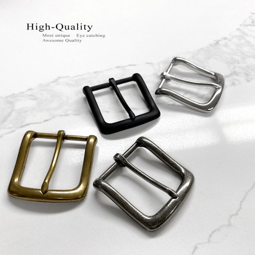 "Single Prong Metal Belt Buckle Replacement buckle for belt fits 1-1/2""(38mm) Belt Strap"