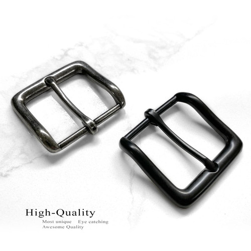 """Replacement Buckle Classic Casual Metal Belt Buckle fits 1-1/2"""" (38mm) Belt"""
