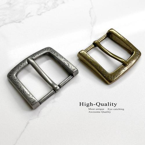"""P3983 Western Floral Engraved Belt Buckle Fits 1-1/2""""(38mm) Wide Belt Strap"""