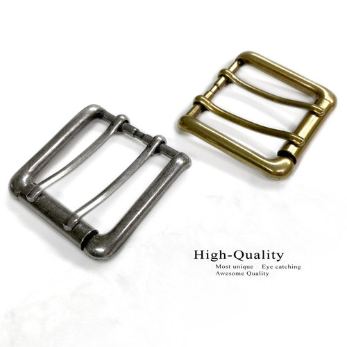 """BS9979 Double Prong Roller Buckle fits 1-1/2""""(38mm) wide Belt Strap"""