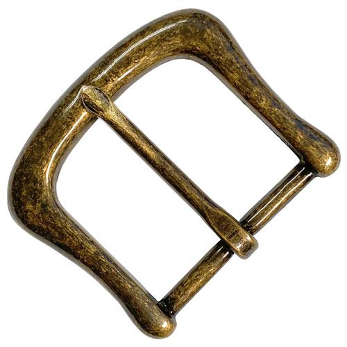 """CX152-OEB Solid Brass Belt Buckle Fits 1-1/2""""(38mm) wide Belt Strap"""