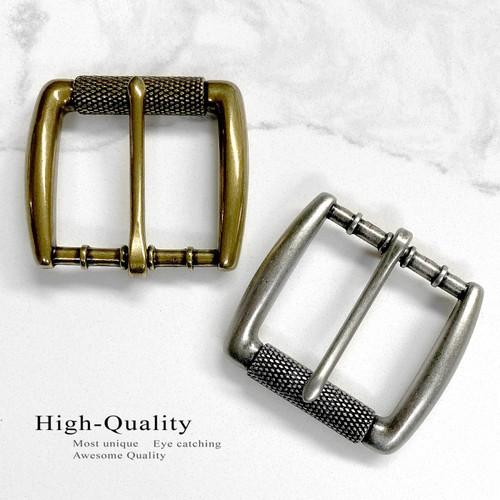 "P4252 Classic Single Prong Roller Belt Buckle Fits 1-1/2""(38mm) Wide Belt"