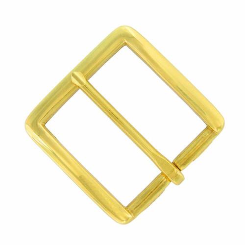 "BHN62-B Solid Brass Buckle Classic Belt Buckle Fits 1-1/2""(38mm) Wide Belt"