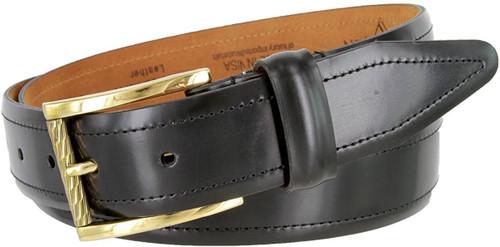 "Lejon Made in USA Belt Men's Dress Genuine Leather Belt 1-3/8""(35mm) Wide"